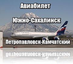 Авиабилет Южно-Сахалинск Петропавловск-Камчатский