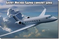 Билет Москва Адлер самолет цена