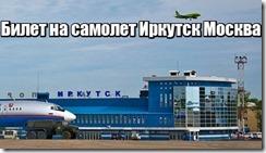 Билет на самолет Иркутск Москва