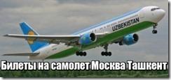 Билеты на самолет Москва Ташкент