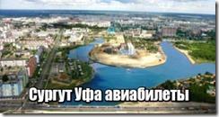 Сургут Уфа авиабилеты