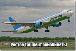 Ростов Ташкент авиабилеты