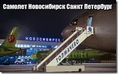 Самолет Новосибирск Санкт Петербург
