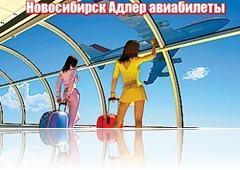Новосибирск Адлер авиабилеты