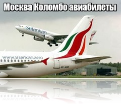 Москва Коломбо авиабилеты