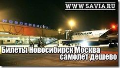 Билеты Новосибирск Москва самолет дешево