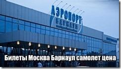Билеты Москва Барнаул самолет цена