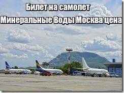 Билет на самолет Минеральные Воды Москва цена