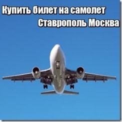Купить билет на самолет Ставрополь Москва