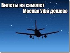 Билеты на самолет Москва Уфа дешево