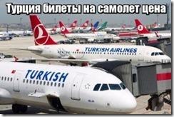 Турция билеты на самолет цена