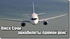 Омск Сочи авиабилеты прямой рейс