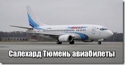 Салехард Тюмень авиабилеты