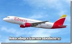 Новосибирск Бангкок авиабилеты